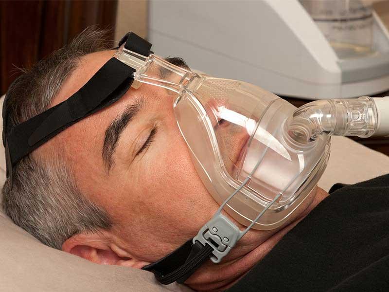 เครื่องช่วยหายใจ CPAP รักษาอาการนอนกรน นอนกรนหยุดหายใจ หยุดหายใจขณะนอนหับ