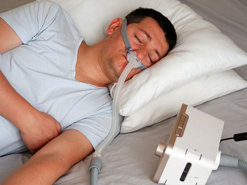เครื่อง CPAP รักษานอนกรน แก้อาการนนอกรน และโรคหยุดหายใจขณะนอนหลับ